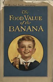 food value banana
